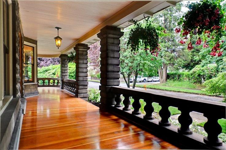 Stone Porch Amazing Homes Pinterest