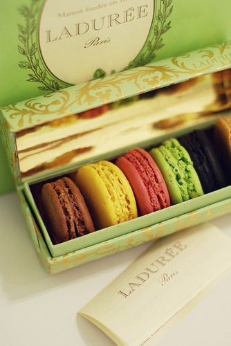 Paris, macaroons, Ladurée... by partycja, via Flickr