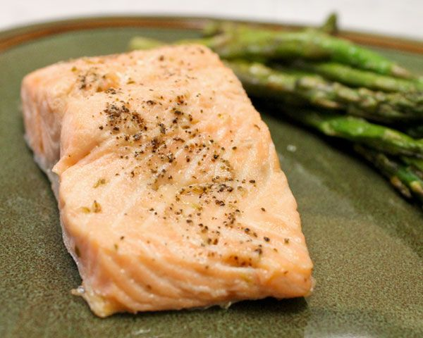 Olive Oil Poached Salmon | Recipe