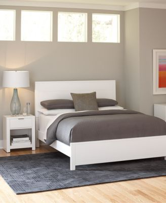 tribeca white bedroom furniture collection