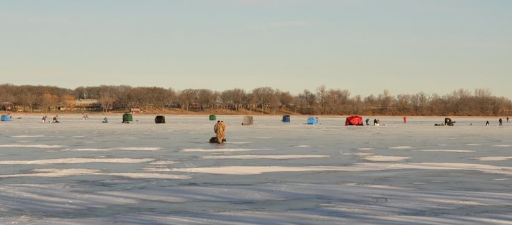 Ice fishing at clear lake iowa iowa fishing pinterest for Clear lake fishing