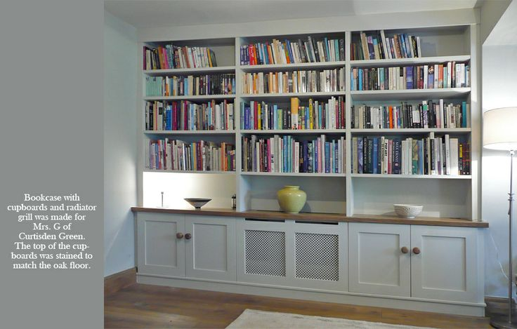 The Bodiam Bookcase Co Bookcases Dining Room Pinterest