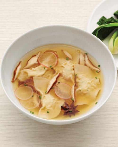 Shrimp & Chive Dumpling Soup | Good Eats | Pinterest