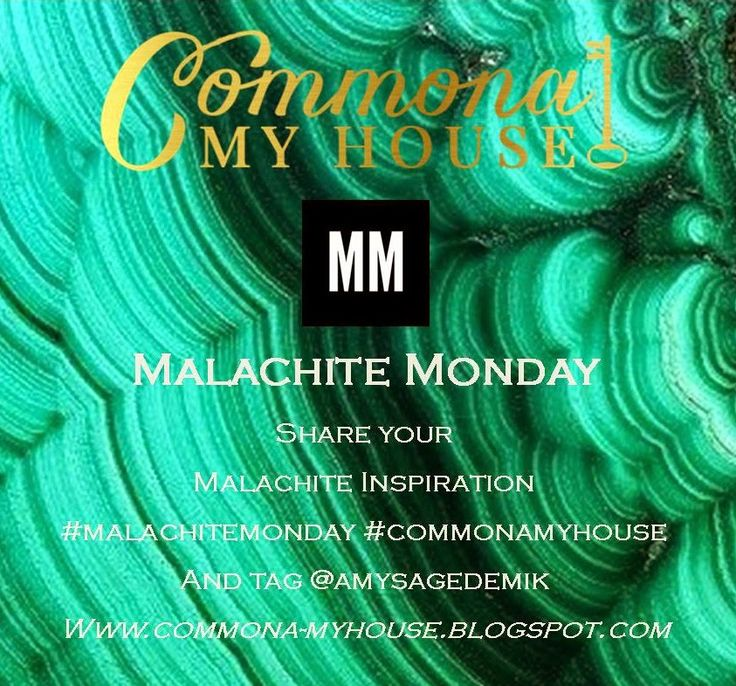 Malachite Monday!!! Weekly series sharing everything MALACHITE!!! Join in and # and tag to have your inspiration and projects featured!