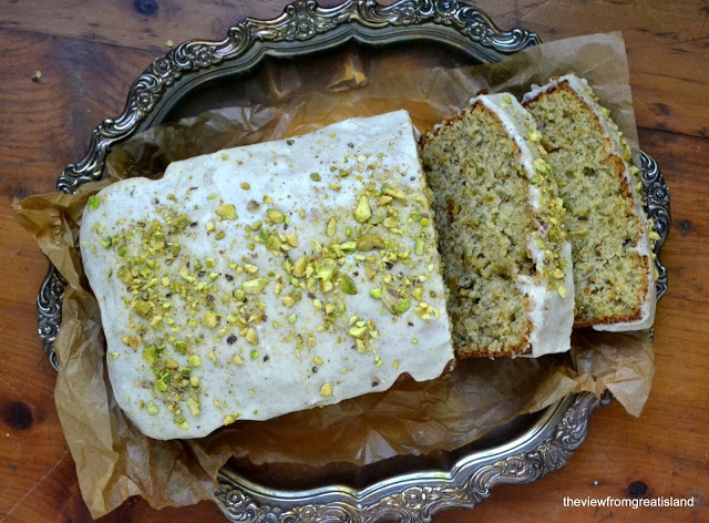The view from Great Island: Pistachio Cardamom Pound Cake