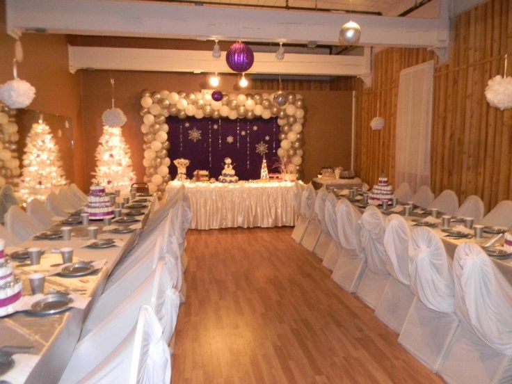 baby shower buffet table ideas