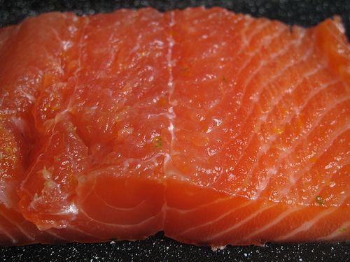 Citrus-cured salmon | Recipe