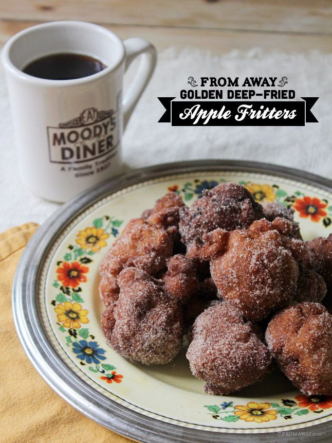 Golden Deep-Fried Apple Fritters. Yep, These are a keeper. Really ...