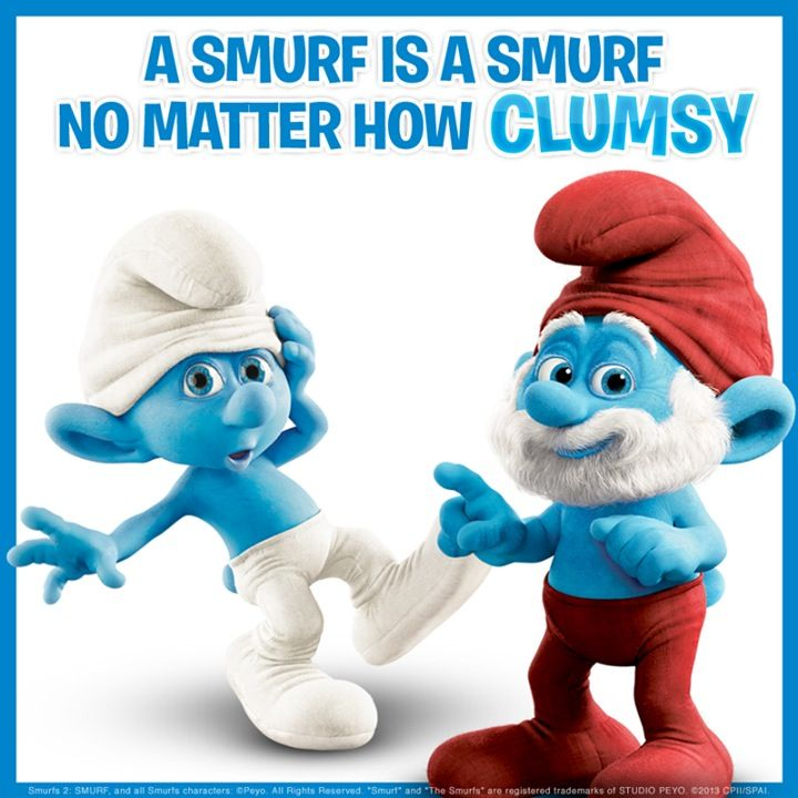 papa smurf and smurfette relationship