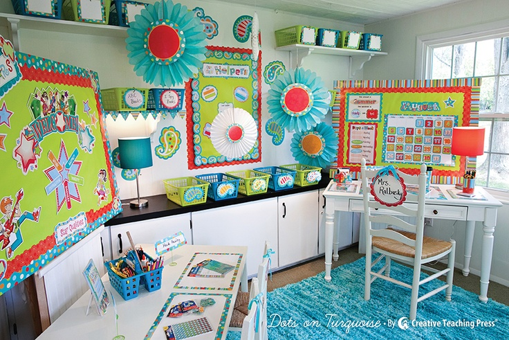 Creative Teaching Press and Schoolgirl Style have teamed-up to create amazing classroom themes! See them in the NEW back-to-school catalog!  #schoolgirlstyle