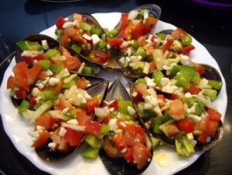 Choritos a la vinagreta | Patagonia Mussel | Pinterest