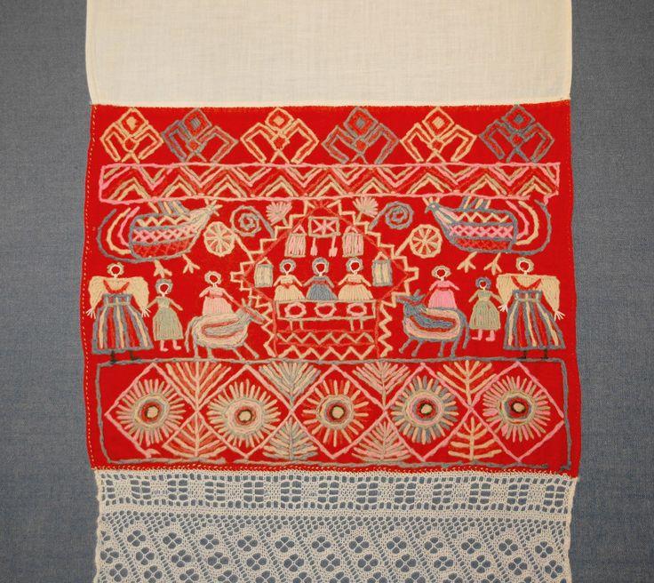 Русская вышивка 13 век 79