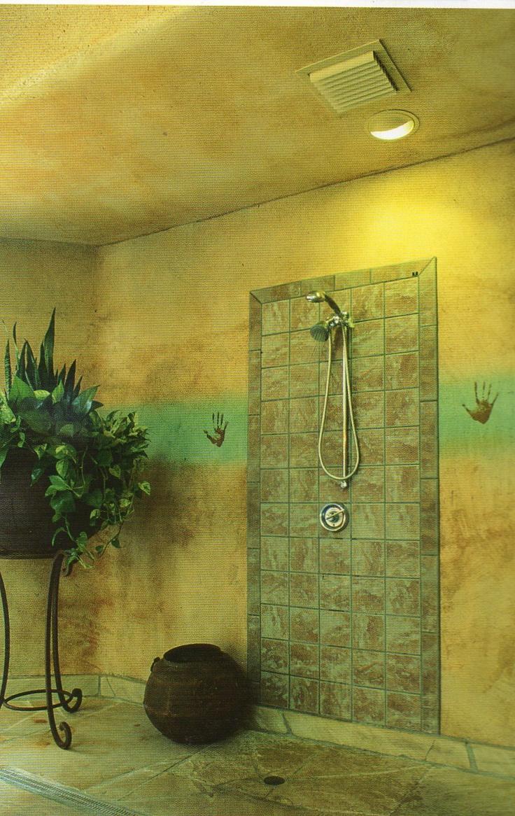 Outdoor shower tiled wall floor shower ideas pinterest for Outdoor shower floor ideas