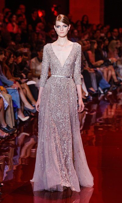 Elie Saab / Paris / Women / 2013-14 FW / Haute Couture / Runway, Fashion Show,fashion trend, fashion week, fashion blog,fashion online, HK blogger - ELLE HK