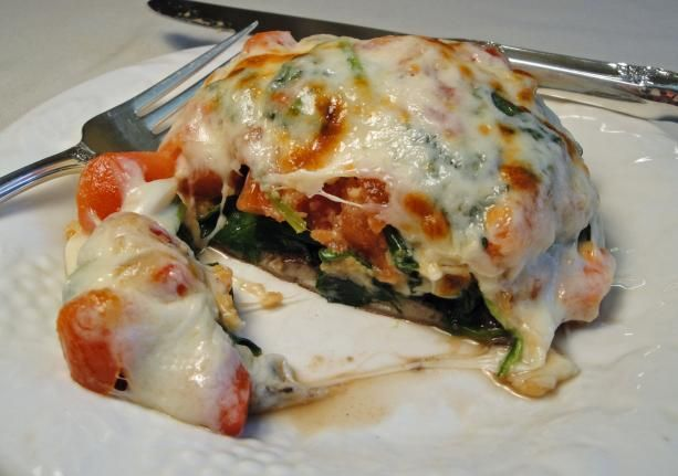 Stuffed Portobello Mushrooms - I just made these and they were DELISH ...