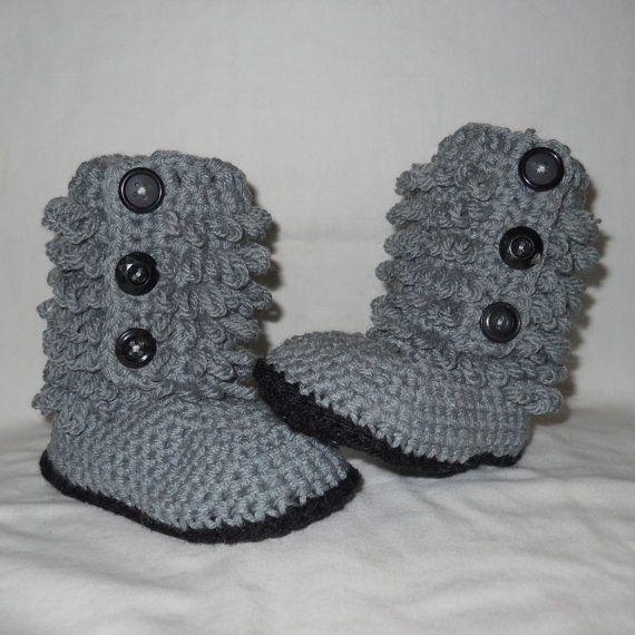Crochet Uggs : crochet uggs