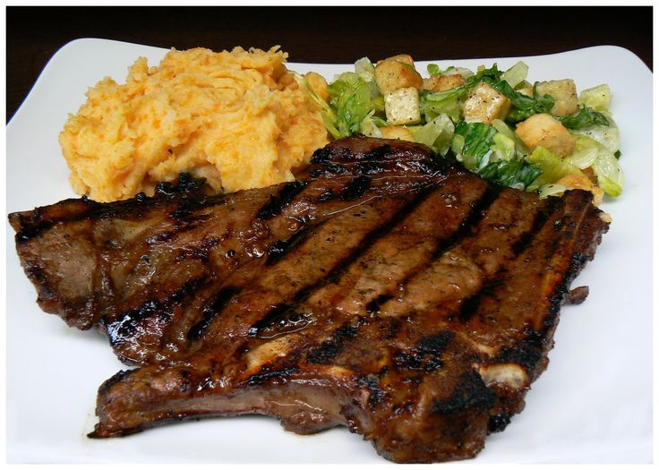 Best ever pork chop marinade marinades pinterest