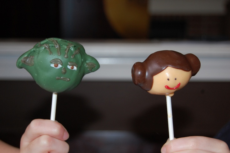 Star Wars Cake Pop Images : Pin by Milissa Hall-Feldhaus on Food Pinterest