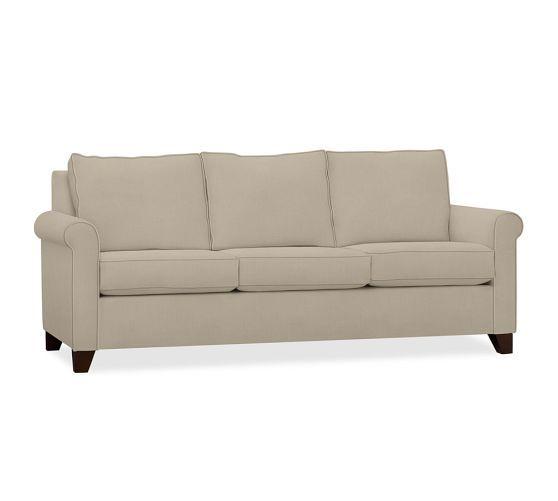 Cameron Upholstered Sofa Pottery Barn Decorating Pinterest
