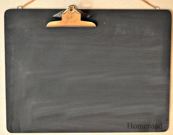 Extra Large Clipboard Chalkboard Message Center www.homeroad.net