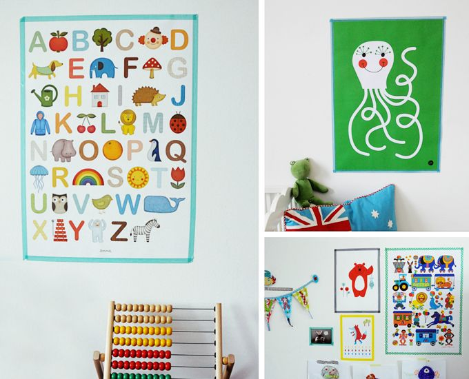 poster kinderzimmer verschiedene ideen. Black Bedroom Furniture Sets. Home Design Ideas