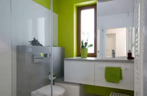 Green Grey Bathroom Is This What We Looked At
