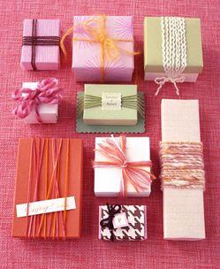 pretty wrapping ideas