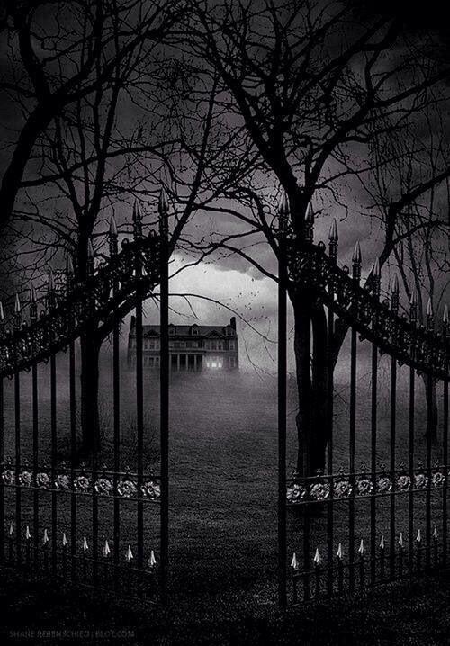 Creepy Gates Halloween Pictures Pinterest