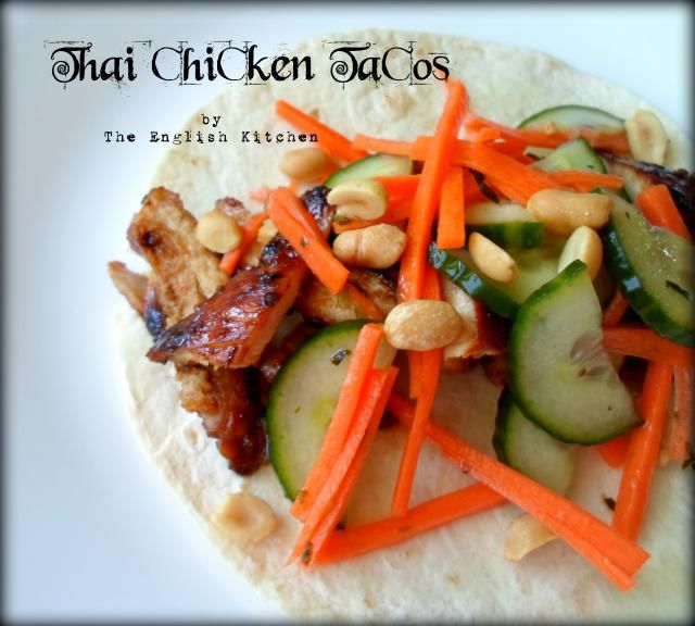 thai chicken tacos | Recipes Chicken Fish | Pinterest