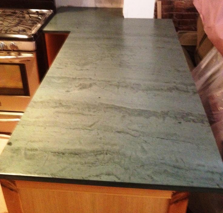Dark Green Slate Countertop For The Home Pinterest