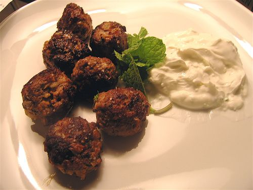 Paprika Lamb Meatballs Recipe — Dishmaps
