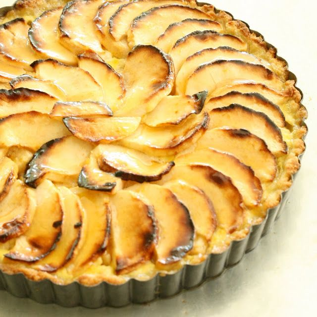 Apple Custard Tart | Pies & Tarts | Pinterest