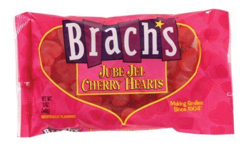 Brach`s Jube Jel Cherry Hearts Valent... | Gummy Candies | Pinterest