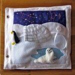 Penguin quiet book page