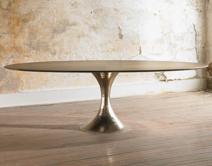 Julian chichester dining table og k 01 kitchen pinterest for Beautiful wood dining room tables