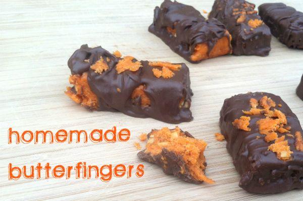 Homemade butterfingers | Sugar Coma | Pinterest