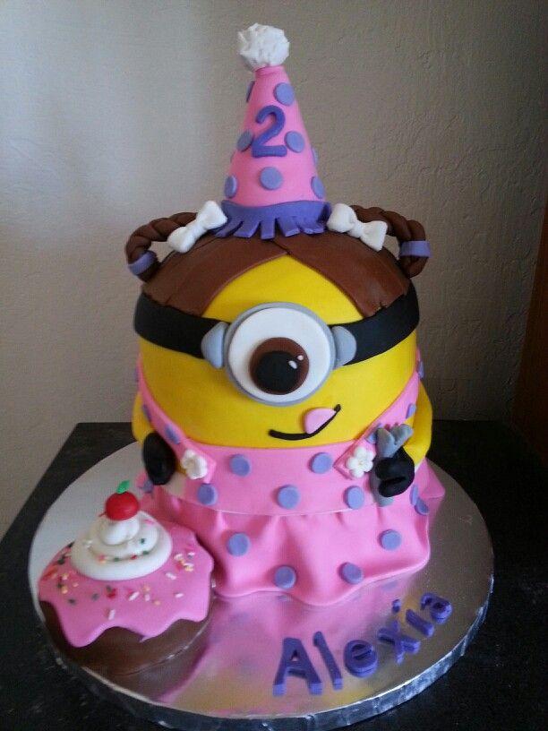Girl Minion Cake Images : Girl minion cake My cakes! Pinterest