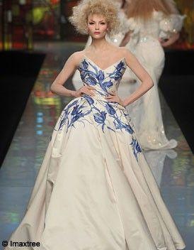 Robe de Mariée Christian Dior  Novias no convencionales. Not ...