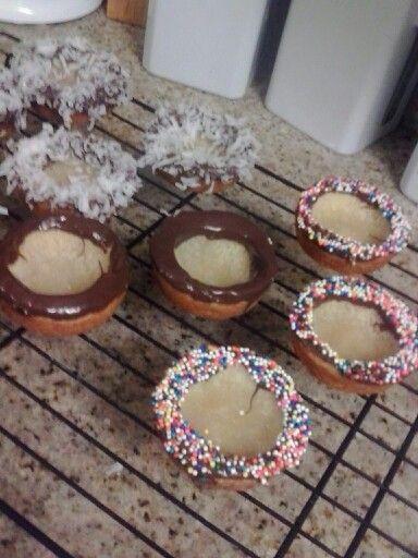 Mini Sugar cookie ice cream bowls | desserts | Pinterest