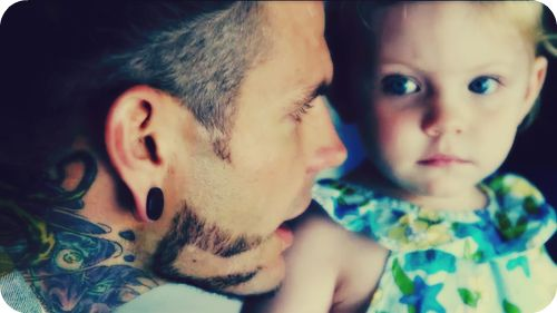 Jeff Hardy  amp  his daughter with his wife Beth  Josie Hardy Jeff Hardy And His Daughter