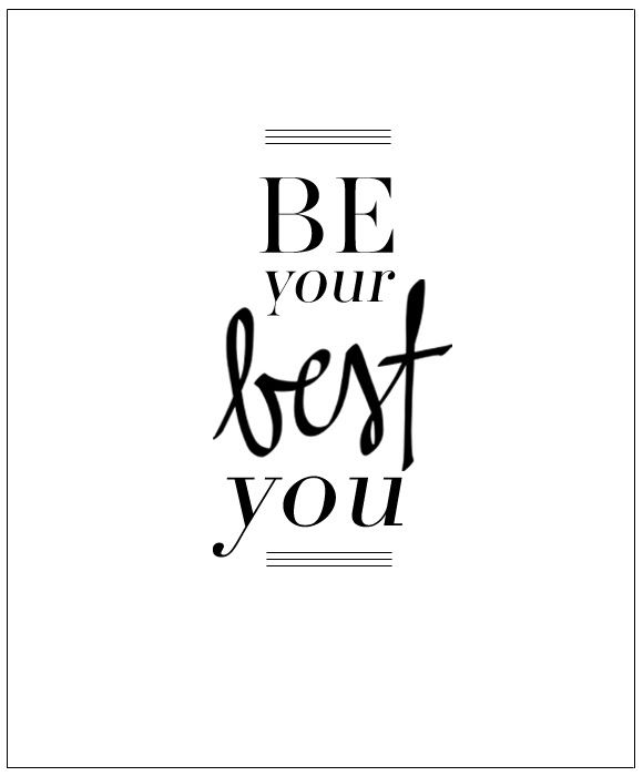 be your best self Unless you're oprah, 'be yourself' is terrible advice by adam grant june 4, 2016 nobody wants to see your true self we all have thoughts and feelings that we believe are fundamental to our lives, but that are better left unspoken.