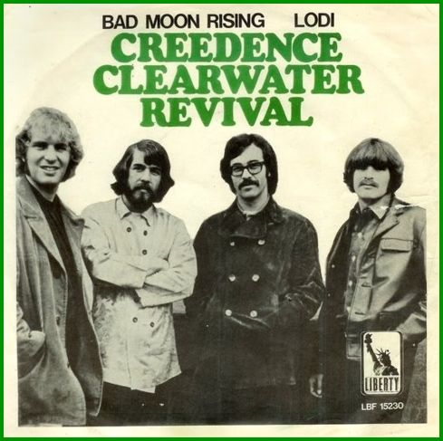 songtext creedence clearwater revival moon rising