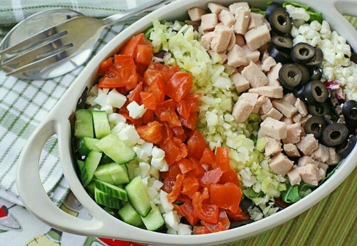 Cobb salad   Recipes, Food, Drink   Pinterest