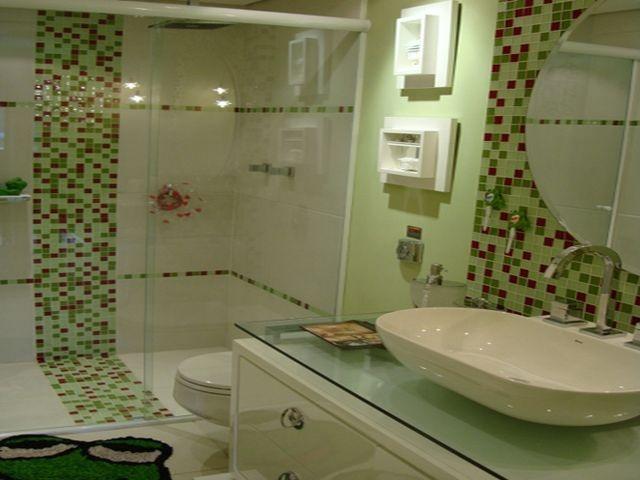 revestimento banheiro  Banheiros  Pinterest -> Banheiro Pequeno Revestimento