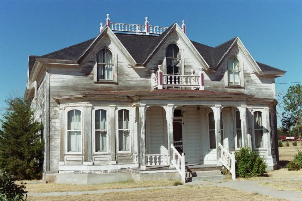 1880 39 s gothic revival house born in the wrong century for Gothic revival house