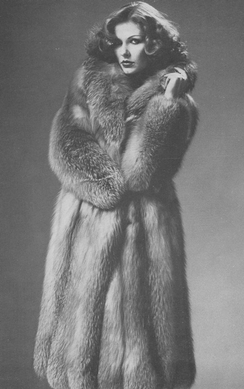 Vintage Fox Fur Coat
