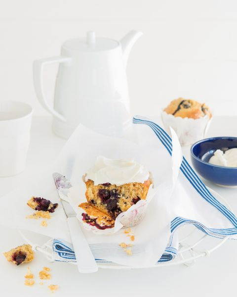 Blueberry & Banana Muffin | Cakes, Biscuits and Slices.. | Pinterest