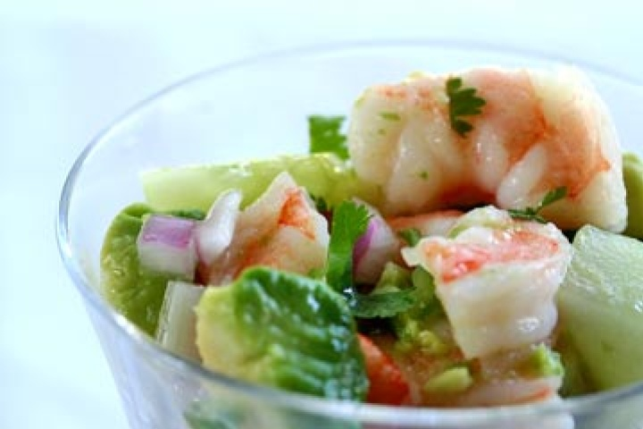 Shrimp Ceviche... I wonder how this compares to bonefish?