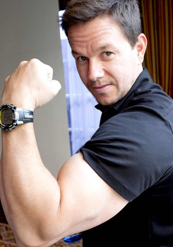 Celeb style-Mark Wahlberg, bring on the big guns!