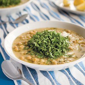 Meatless Monday: Revithia (Greek Chickpea Soup)